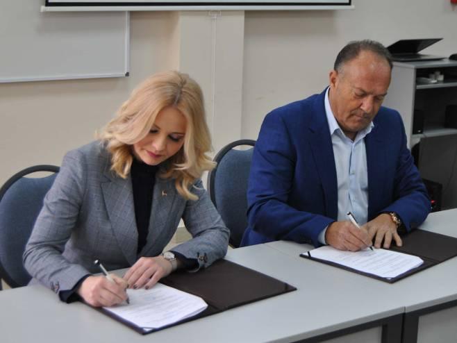 Тривићева и Шарчевић потписали Споразум о сарадњи у области образовања