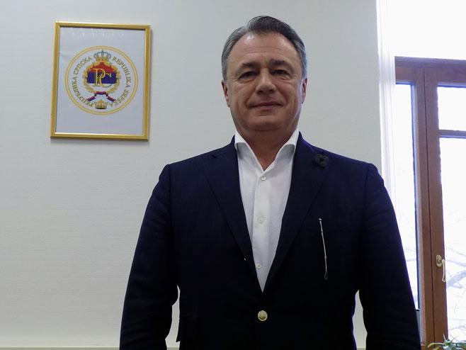 """Перовић: Вакцина """"Спутњик"""" у Српску би могла стићи сљедеће седмице"""