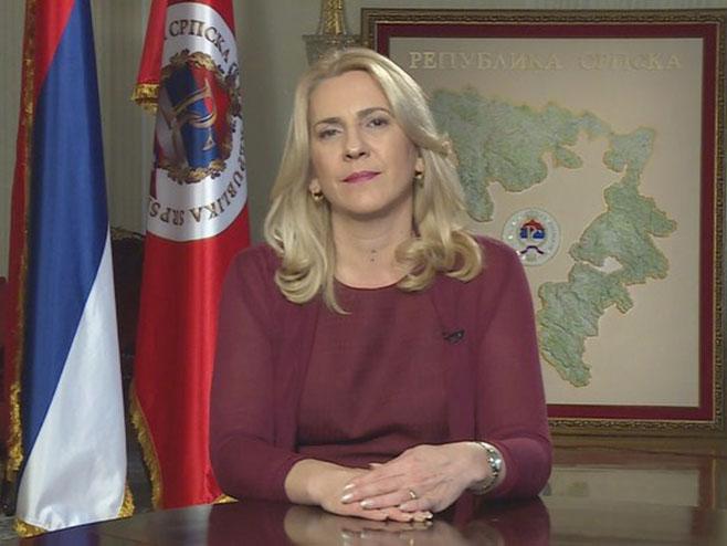 Цвијановић честитала православну Нову годину