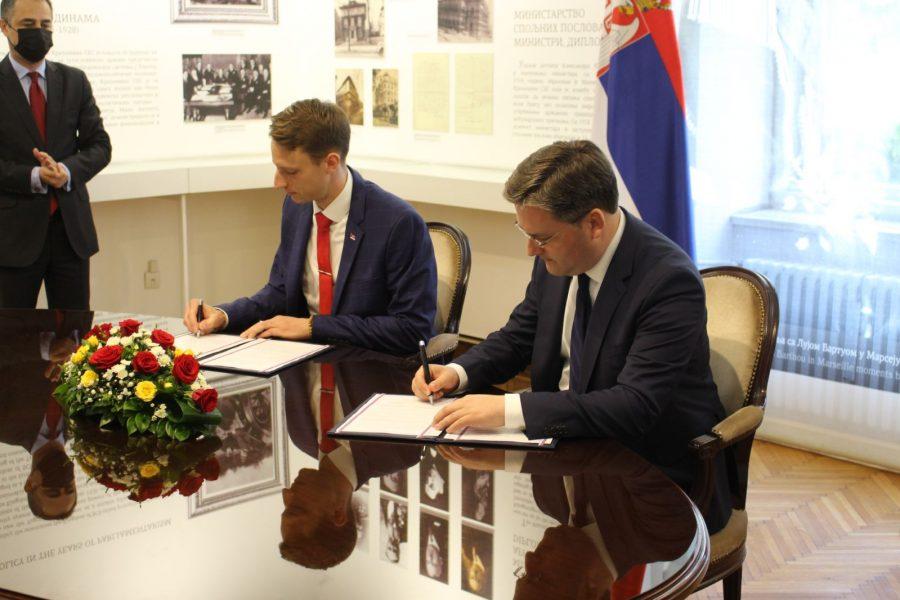 Потписан Протокол о сарадњи МСП Србије и Организације српских студената у иностранству