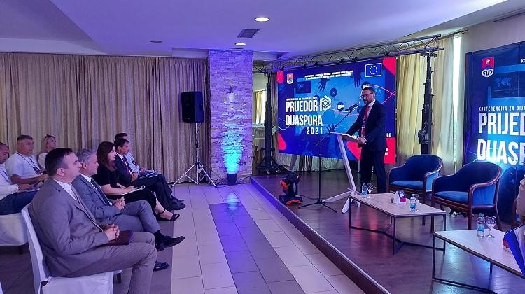 """Министар Клокић на конференцији """"Приједор и дијаспора 2021"""""""