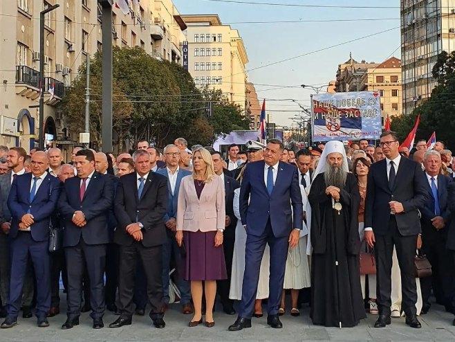 Дан српског јединства обиљежен у Српској и Србији